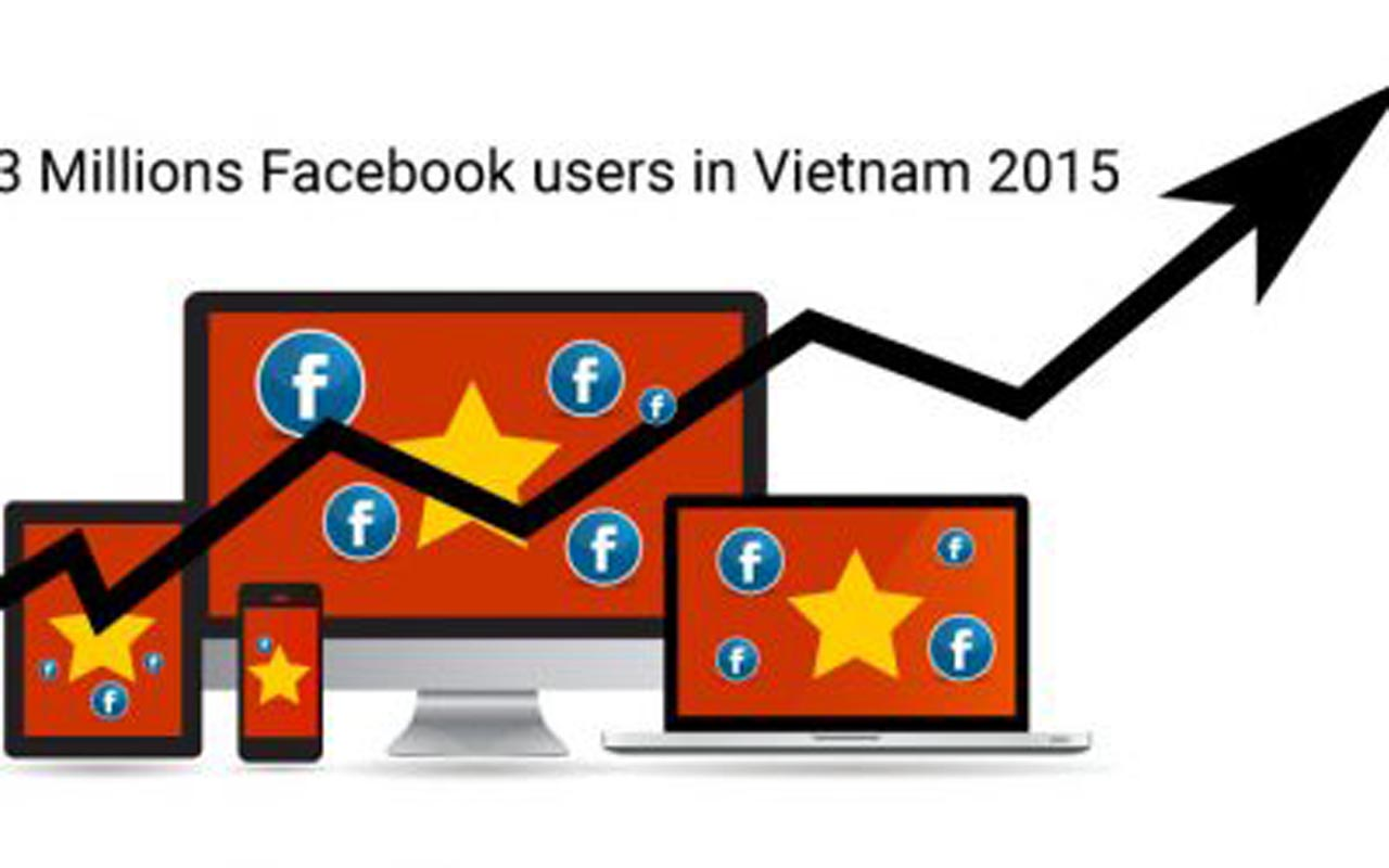 Facebook in Vietnam 2015