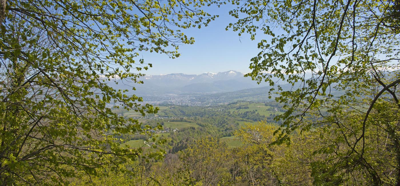 Panorama autour de Chambéry