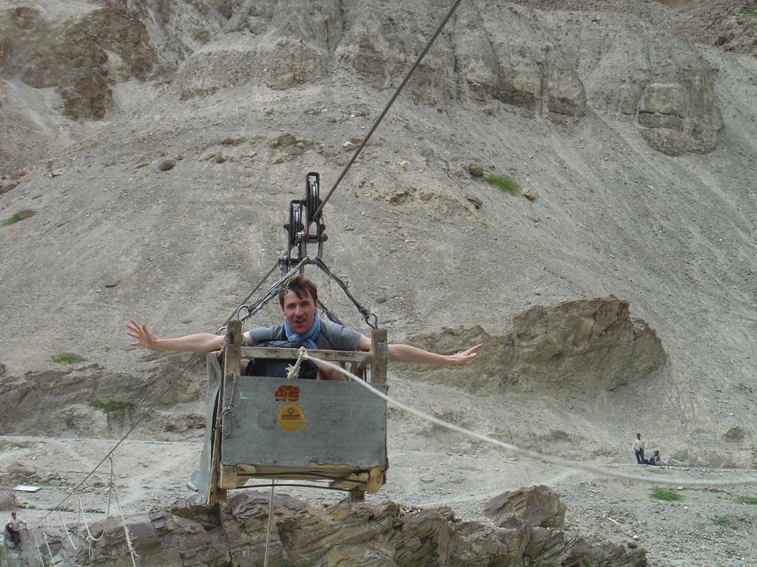 Tyrolienne - Randonnée au Ladakh