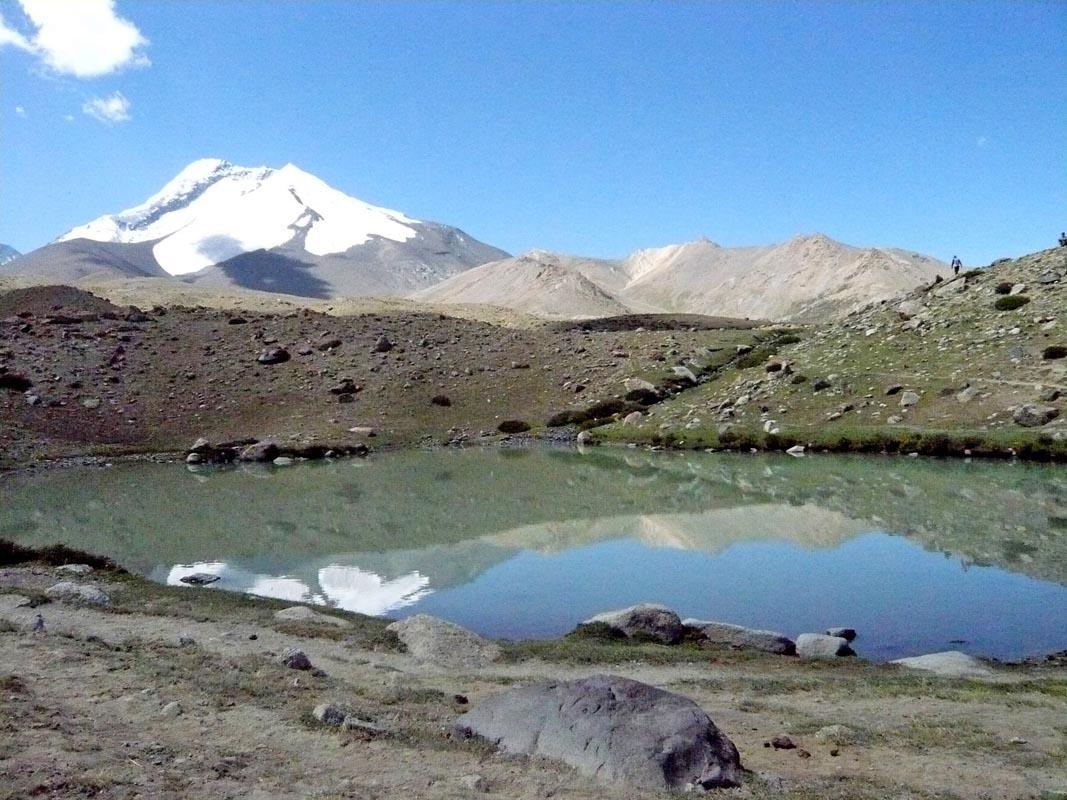 Lac et neige Ladakh