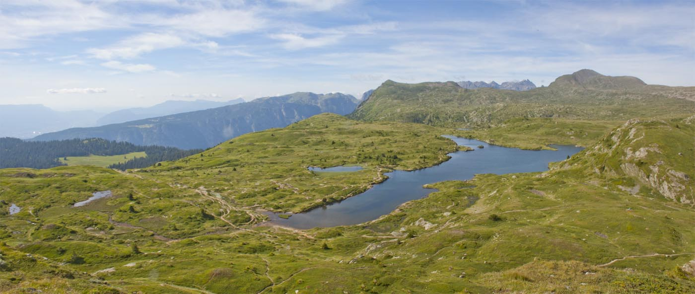 Panorama Taillefer lac Fourchu