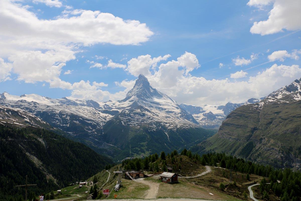 Panoramique Zermatt Suisse Randonnée