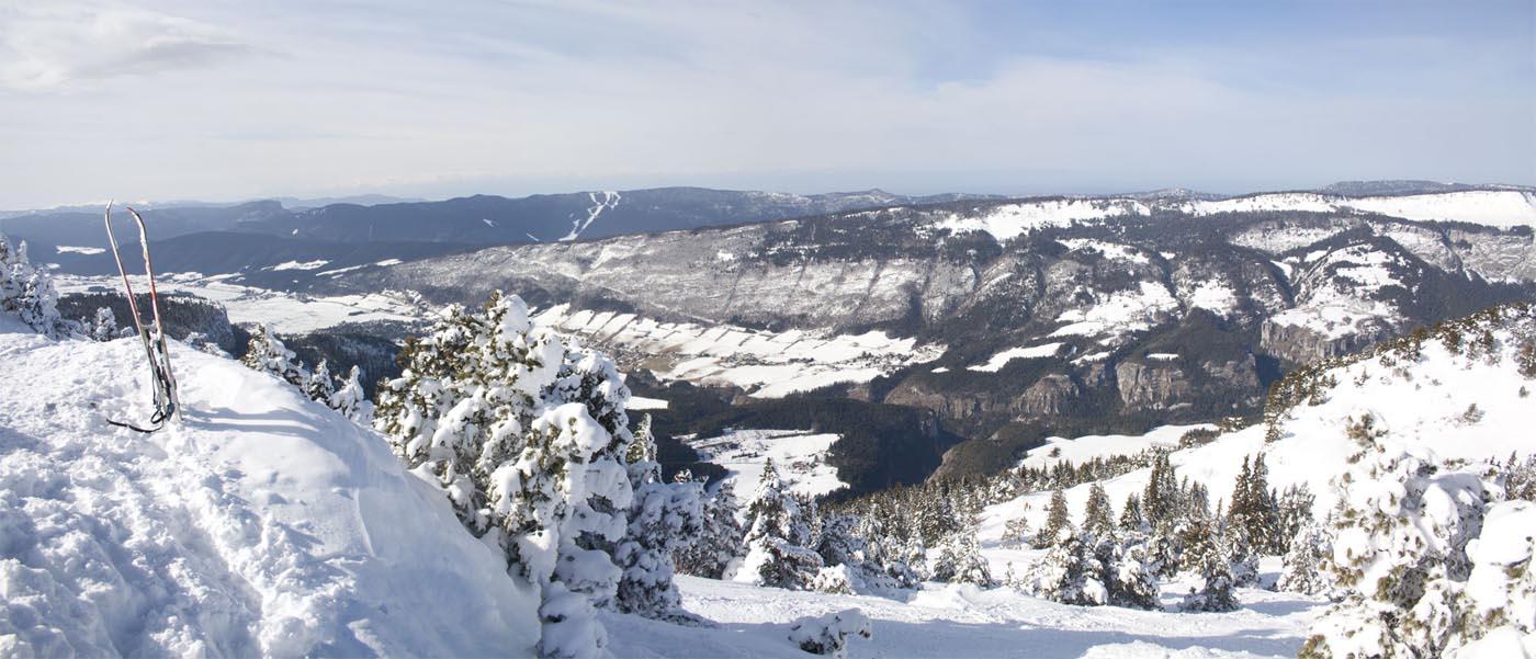 Panoramique de Grenoble depuis Moucherotte dans le Versors