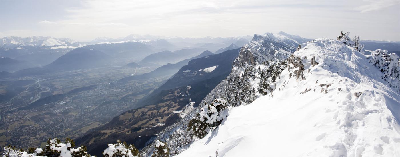 Panoramique depuis Moucherotte dans le Versors