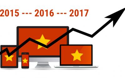 Internet statistics in Vietnam in 2017
