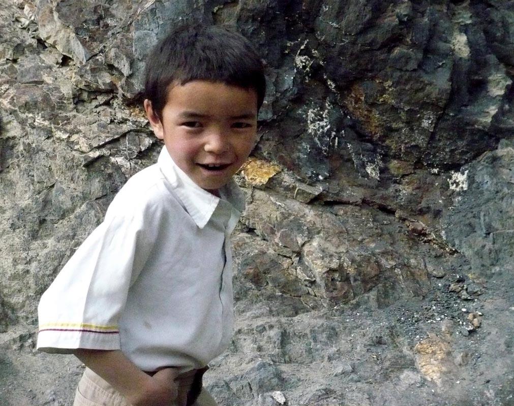 Enfants au Ladakh
