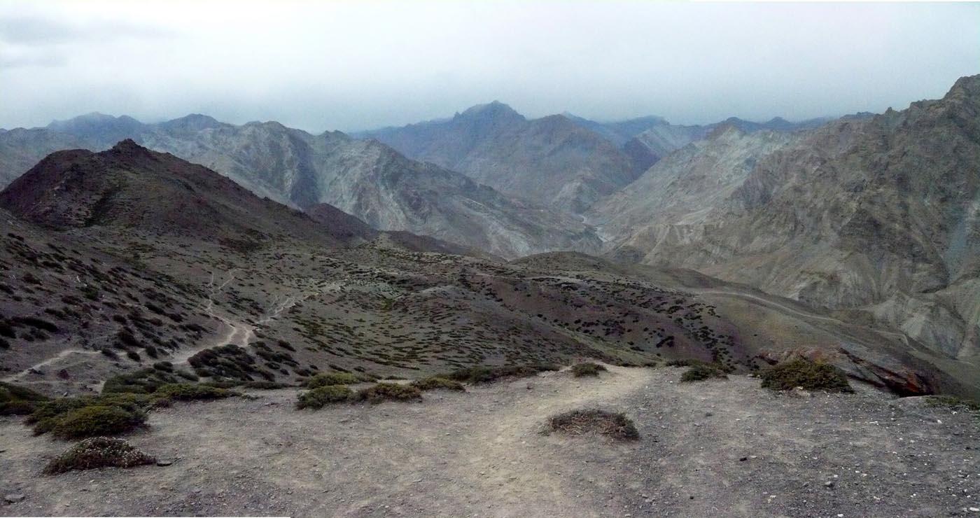 Trek in Ladakh panorama