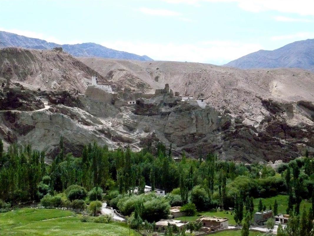 Depuis la route au Ladakh