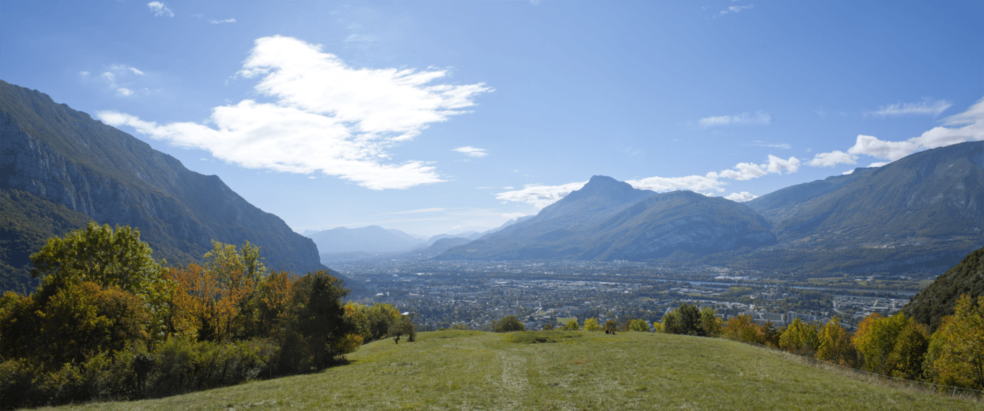 Randonnée autour de Grenoble Mont Sialet - vue sur le Néron