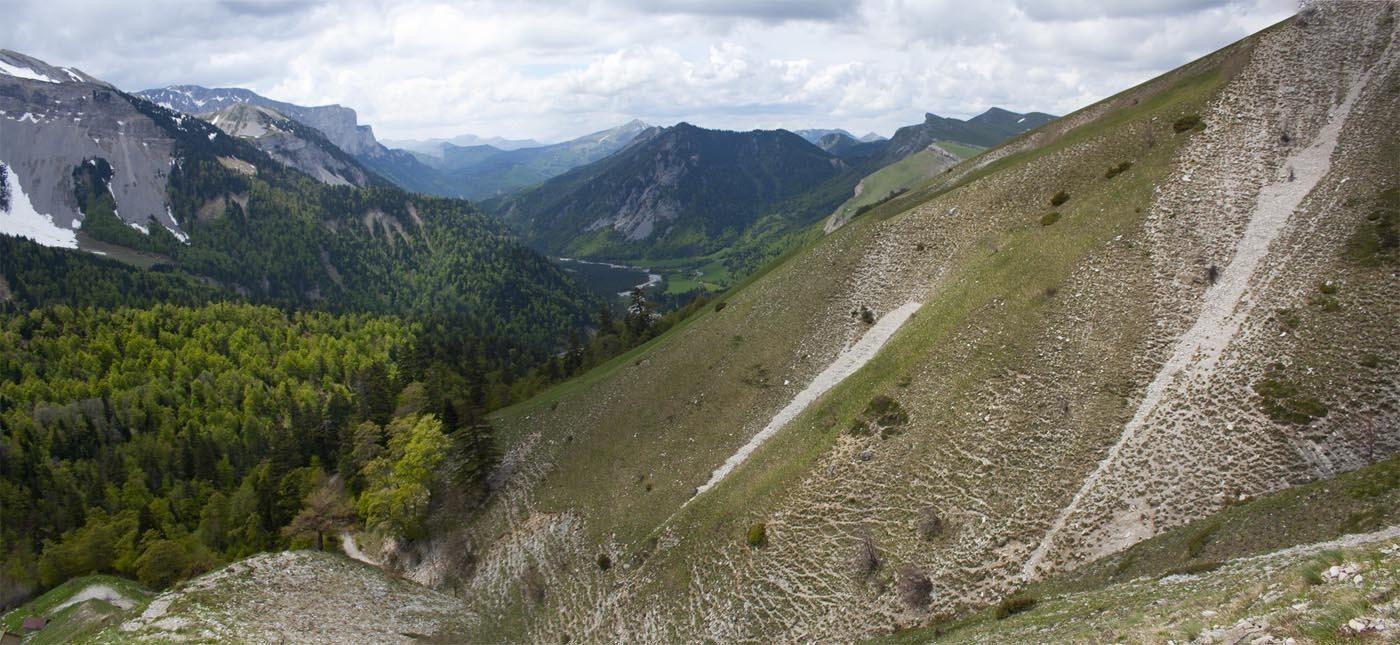 Panorama Devoluy Vallon de la Jarjatte