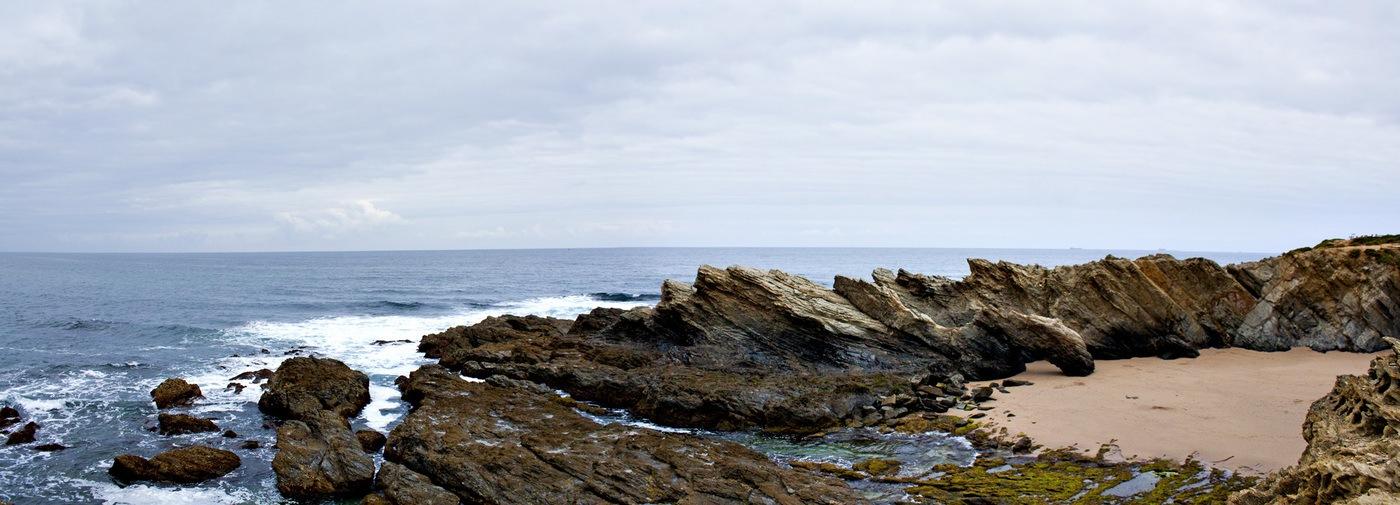 Paysage randonnée littoral Portugal