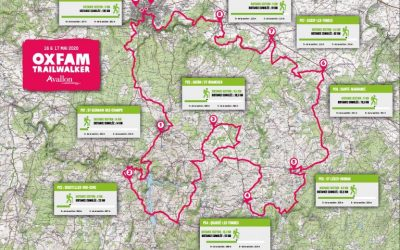 Materiel pour la rando Oxfam trailwalker 2020